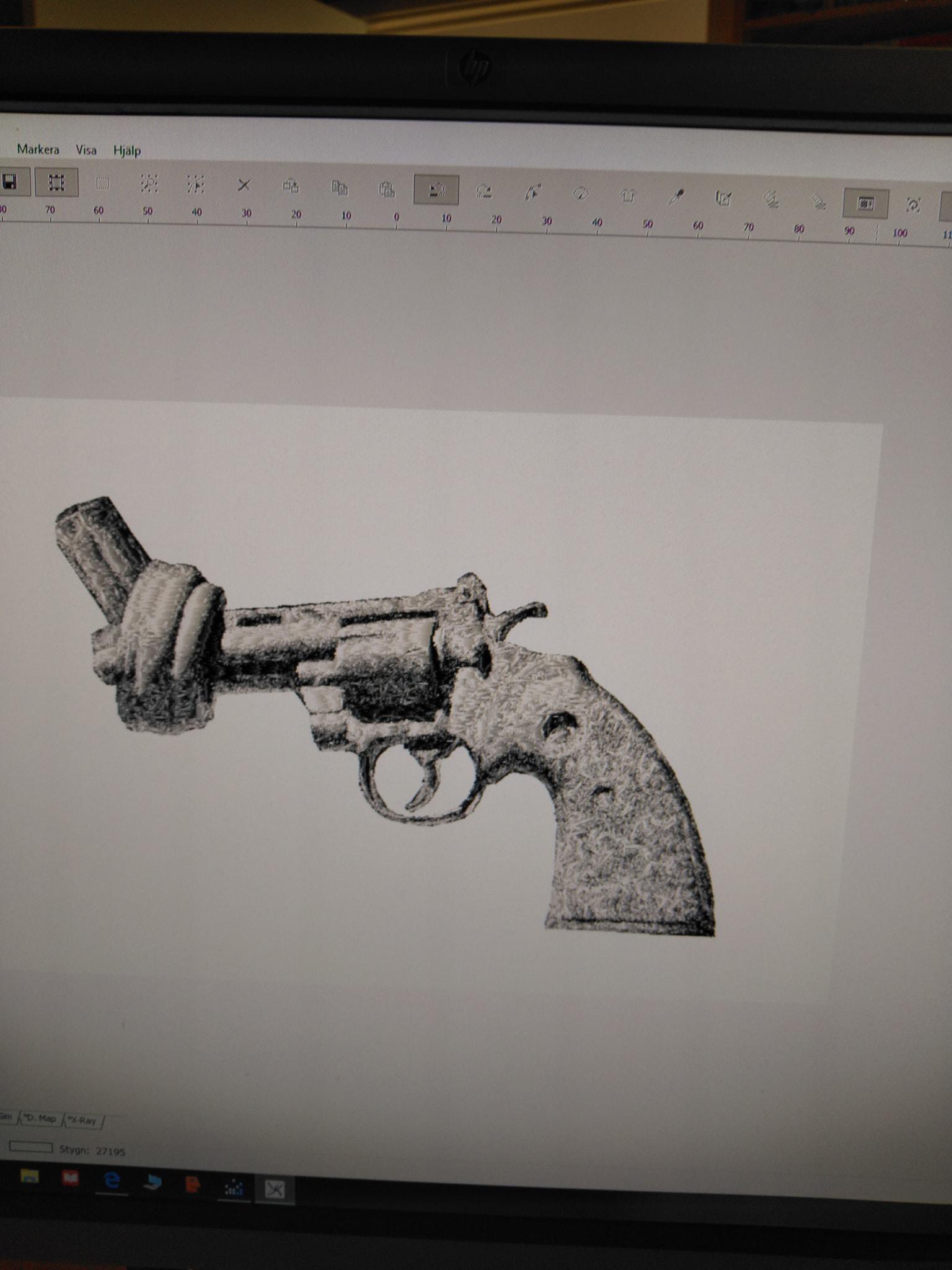 Knuten revolver